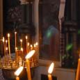 Candles in St. Nedelya Church, Sofia, Bulgaria